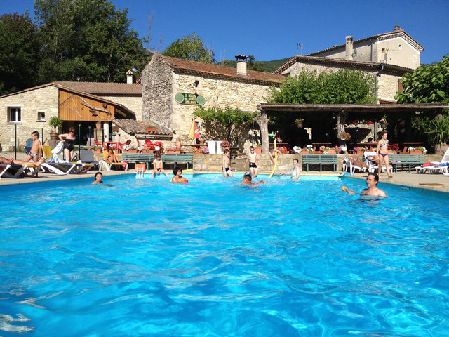 Piscina camping du Moulin