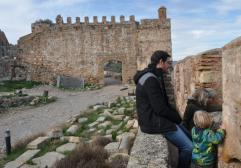 Visitar el castillo de Sagunto con niños